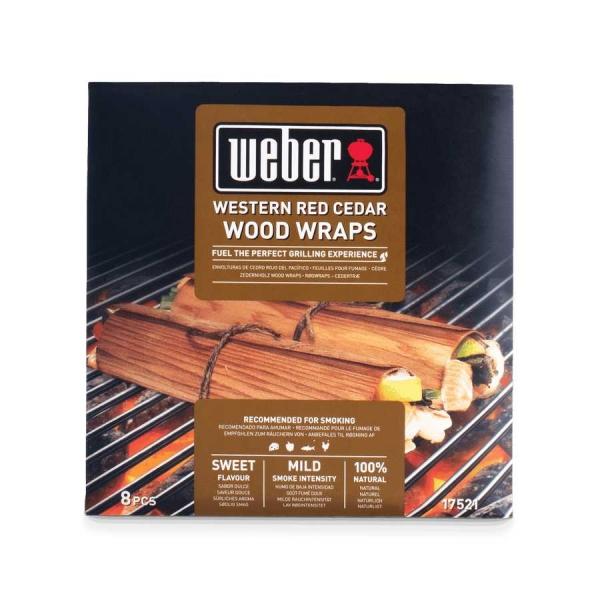 Weber Wood Wraps aus Zedernholz