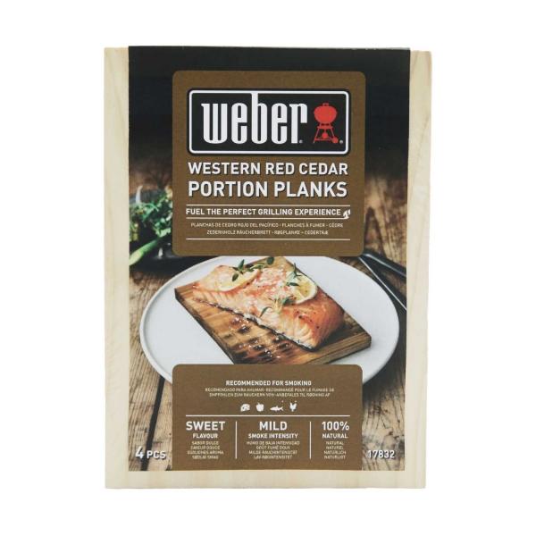Weber Räucherbretter - Zedernholz, Serviergröße
