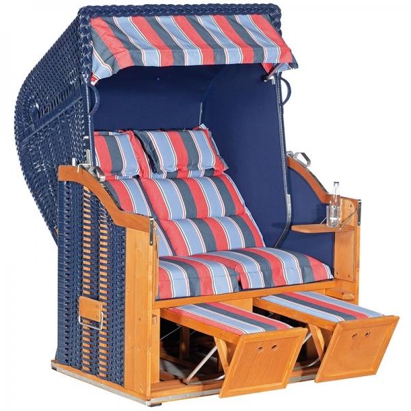 Strandkorb Classic Turin Royo / blau