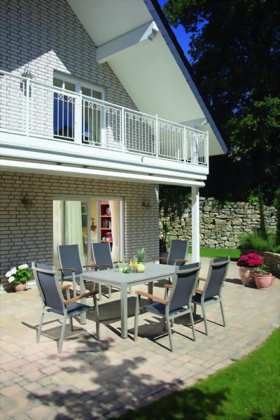 serie florida sling sonnenpartner aluminium mit. Black Bedroom Furniture Sets. Home Design Ideas