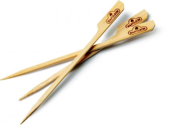 Napoleon - Holz-Spieße aus Bambus, 15 cm lang (48 Stk)