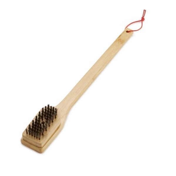 Grillbürste mit Bambusholzgriff, 46 cm