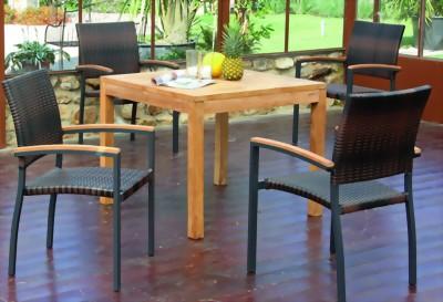 tisch wellington sonnenpartner sunny smart teakholz. Black Bedroom Furniture Sets. Home Design Ideas