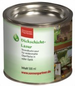 Dickschichtlasur 500 ml