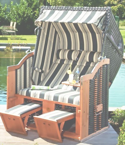 garten strandkorb classic anthrazit stoff nr 141 stefan herdelt gmbh. Black Bedroom Furniture Sets. Home Design Ideas