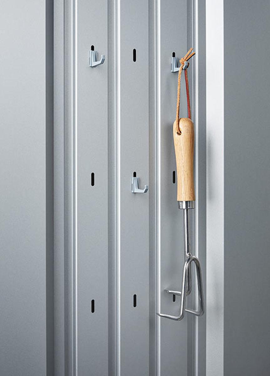 Ordnungssystem Biohort Terrassenschrank Metallschrank Romeo