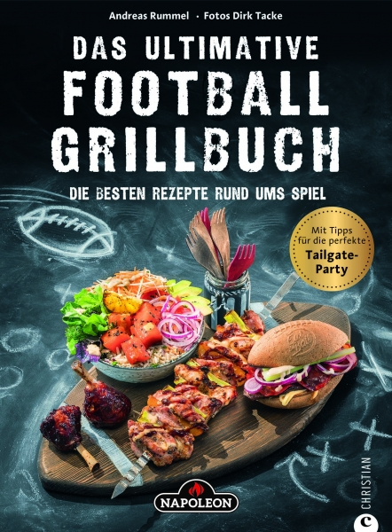 "Grillbuch ""Das Ultimative Football-Grillbuch"""