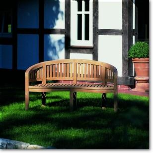 nierenbank castle garden sonnenpartner teakholz gartenm bel stefan herdelt gmbh. Black Bedroom Furniture Sets. Home Design Ideas